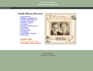 familyrecordfinder.com screenshot