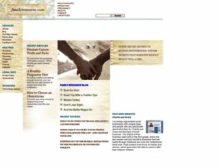 familyresource.com screenshot