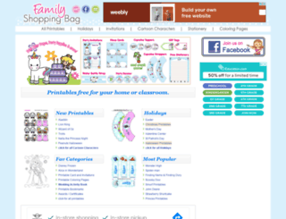 familyshoppingbag.com screenshot