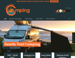 familytentcamping.com screenshot
