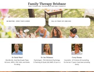 familytherapybrisbane.com screenshot