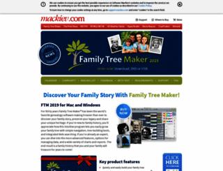 familytreemaker.com screenshot