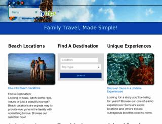 familytripadvice.com screenshot