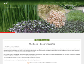 famorganic.com screenshot