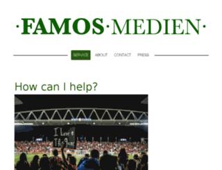 famosmedien.com screenshot