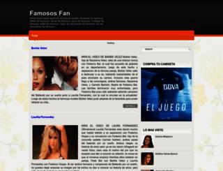 famososfan.blogspot.com.ar screenshot