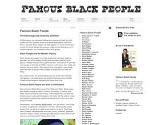 famousblackpeople.org screenshot
