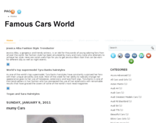 famouscarsworld2011.blogspot.com screenshot