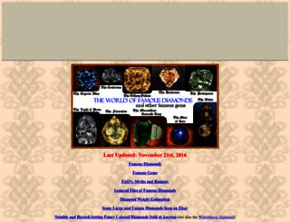famousdiamonds.tripod.com screenshot
