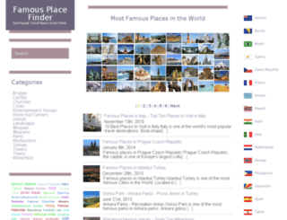 famousplacefinder.com screenshot