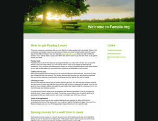 fampla.org screenshot