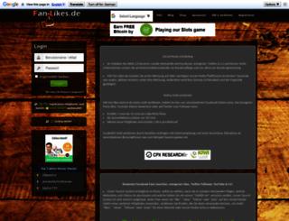 fan-likes.de screenshot