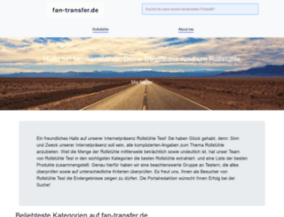 fan-transfer.de screenshot