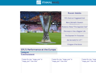 fanalmag.com screenshot