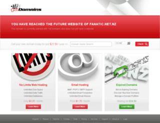 fanatic.net.nz screenshot