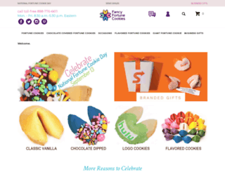 fancyfortunecookies.com screenshot