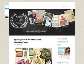 fancyfrugallife.com screenshot