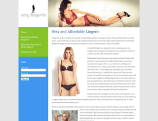 fancylingeriestore.com screenshot