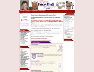 fancythatdesigns.com screenshot