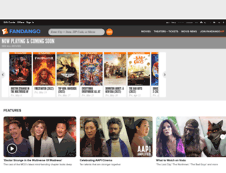 fandango.com screenshot