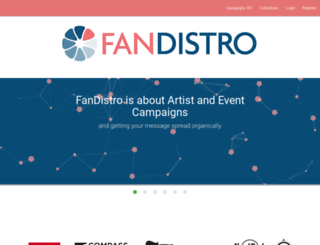 fandistro.com screenshot