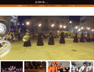 fanfarelesnob.com screenshot