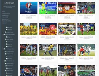 fanfotbal.org screenshot