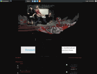 fangbanger.forumactif.org screenshot