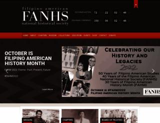 fanhs-national.org screenshot