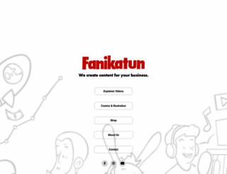 fanikatun.com screenshot
