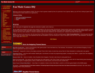 fanmade.emulationzone.org screenshot