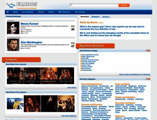 fanoos.com screenshot
