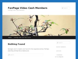 fanpagevideocash.org screenshot