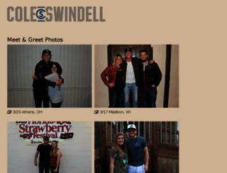 fanphotos.coleswindell.com screenshot