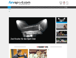 fanreport.at screenshot