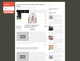 fanscules10.blogspot.com.br screenshot