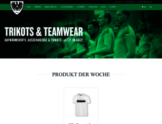fanshop.scpreussen-muenster.de screenshot