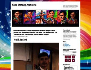 fansofdavid.com screenshot
