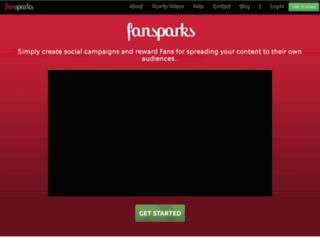 fansparks.com screenshot