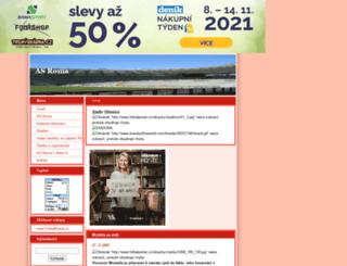 fansroma.estranky.cz screenshot
