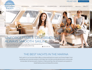 fantaseayachts.com screenshot