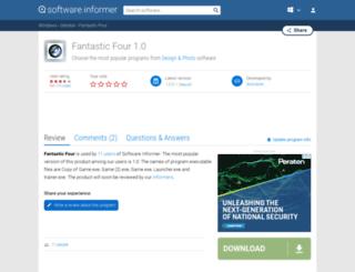 fantastic-four.software.informer.com screenshot