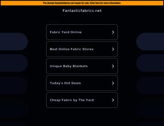 fantasticfabrics.net screenshot