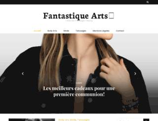 fantastique-arts.com screenshot