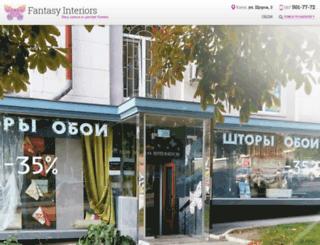 fantasy-interiors.com screenshot