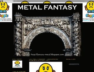 fantasy-metal.blogspot.com screenshot