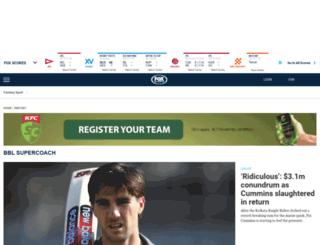 fantasy.foxsports.com.au screenshot