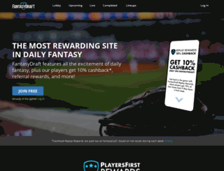 fantasydraft.tips screenshot