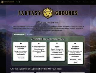 fantasygrounds.com screenshot