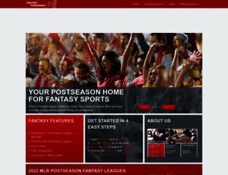 fantasypostseason.com screenshot